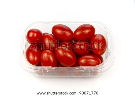 Cherry Tomatoes also known as Sweet Snack Tomatoes.