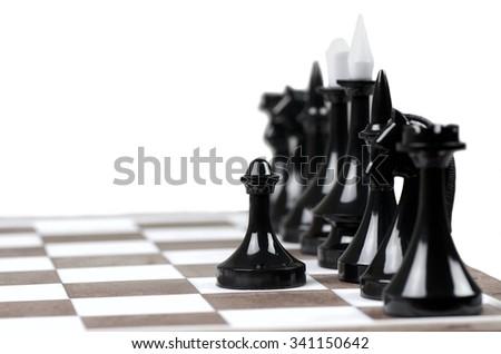 Chess. - stock photo