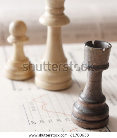 Chess as a metaphor for stock markets