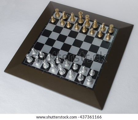 Chess - Board with chess.