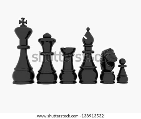 Chess chrome effect