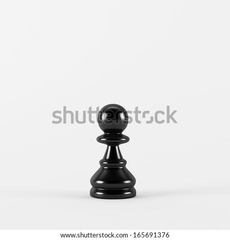 Chess Pawn - stock photo
