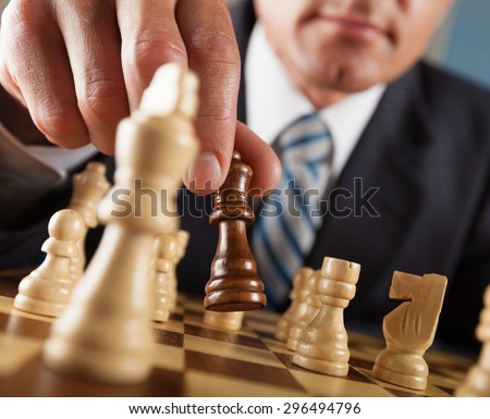 Chess, Strategy, Decisions. - stock photo