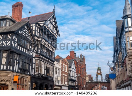 Chester, England - stock photo