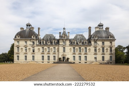 Cheverny Castle, Loire Valley, France - stock photo