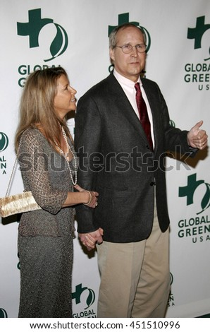 Chevy Chase at the Global Green USA Pre-Oscar Celebration to Benefit Global Warming held at the Avalon in Hollywood, USA on February 21, 2007. - stock photo