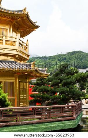 Chi lin Nunnery, Hong Kong - stock photo
