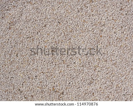 chia seeds as a food texture background - stock photo