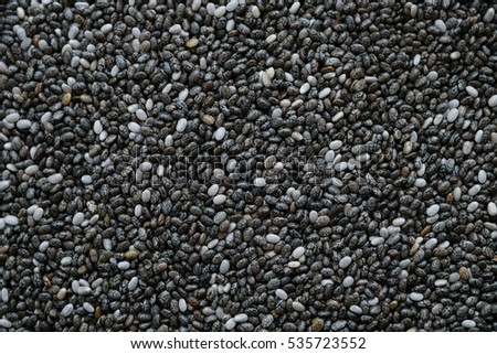 Chia seeds background.