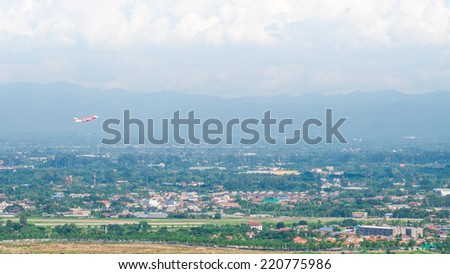 CHIANG MAI,THAILAND-September 27:Landscape of view in Chiang Mai, status as the unofficial capital of northern Thailand, second in importance only to ??BANGKOK .CHIANG MAI,THAILAND-September 27, 2014