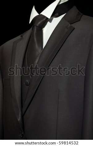 Chic and stylish jacket, fashion and business background