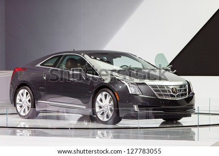Chicago February 8 New Cadillac Elr Stock Photo 127783055 ...