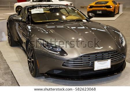 CHICAGO IL FEBRUARY Aston Martin Stock Photo Royalty Free - Aston martin chicago