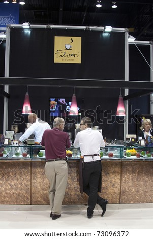 CHICAGO, USA - MAY 23: 95th Annual National Restaurant Association (NRA) Show 2010, McCormick Place on May 23, 2010 in Chicago, USA. - stock photo