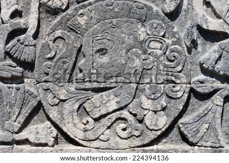 Chichen Itza Mayan Temple - stock photo