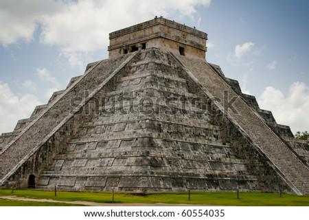 Chichen Itza, Mexico - stock photo