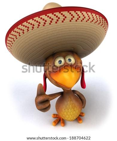Chicken - stock photo
