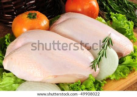Chicken breast. - stock photo