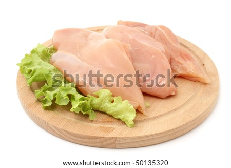 chicken breasts - stock photo