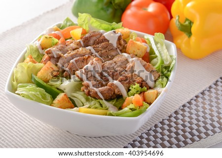 Chicken Chop Salad