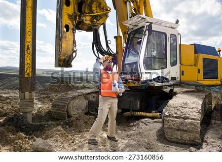 Chief Mechanic Engineer - stock photo
