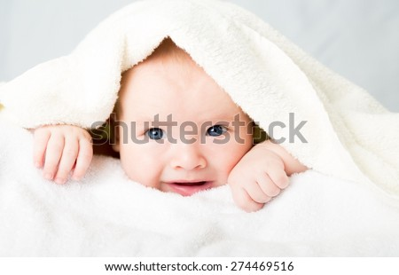 Child, bath, boy.