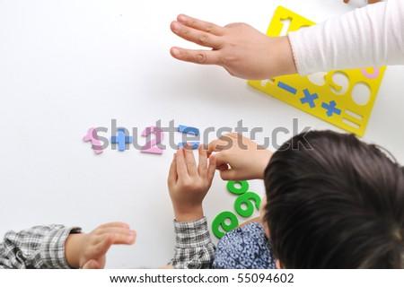 Child business - stock photo