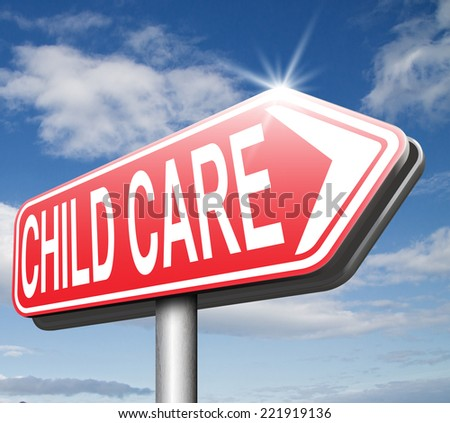 child care center in daycare or cr���¨che babysitting protection against child abuse   - stock photo