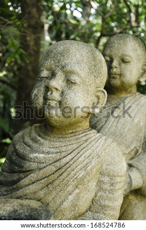 Child Monk Dolls , The Art of statue