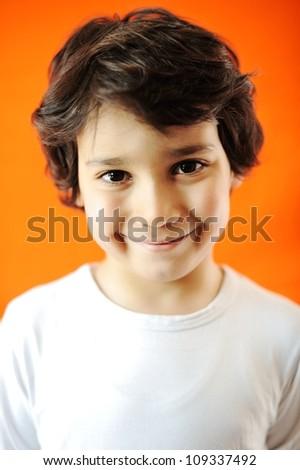 Child portrait - stock photo