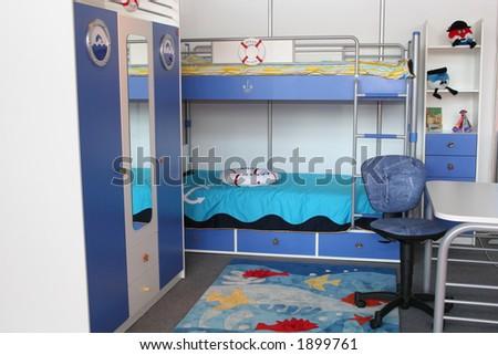child room - stock photo