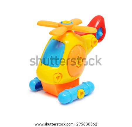 child toy in isolated white background - stock photo