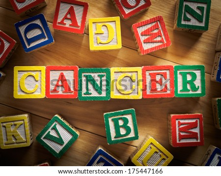 Childhood cancer concept - stock photo