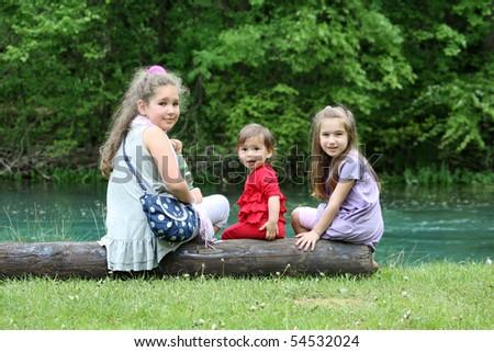 children - stock photo