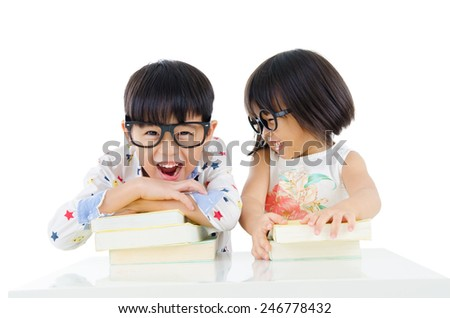 Children education - stock photo