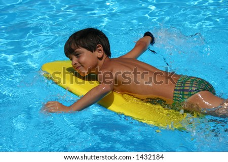 Children in summer time - stock photo