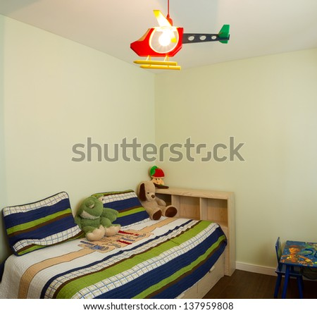 Children living room interior