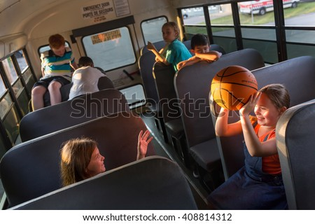 School Bus Seat Stock Images Royalty Free Images