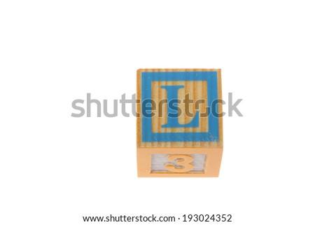 Children's Blocks - stock photo