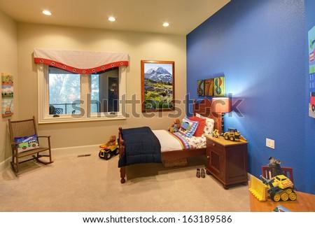 Children's Room in Modern Home  - stock photo