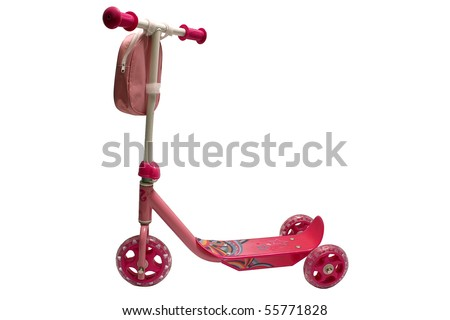 Children scooter - stock photo