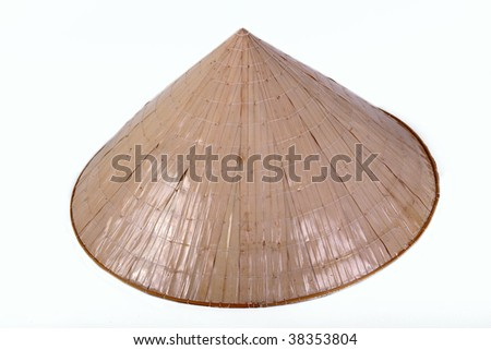 China bamboo hat