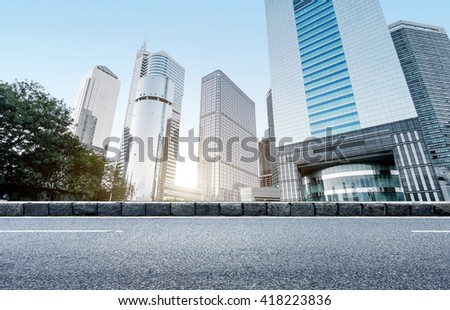 China Guangzhou Pearl River New City high-rise, Guangzhou landmarks. - stock photo
