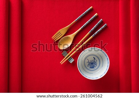 Spoon And Chopsticks Stock Images Royalty Free Images