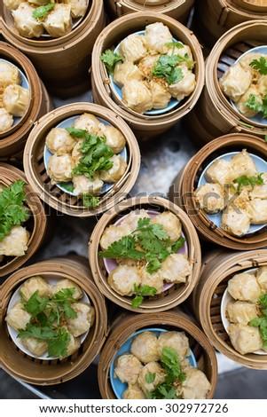 Chinese Dumpling - stock photo