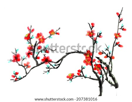 Chinese element--plum blossom