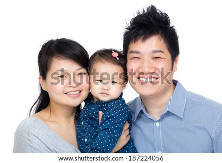 Chinese Family  - stock photo