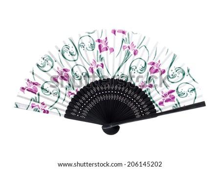 Chinese fan  - stock photo