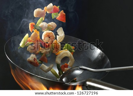 Chinese food - stock photo