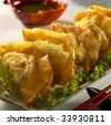 chinese food,asian food. - stock photo